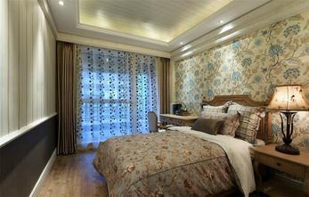120平米公寓美式风格卧室设计图
