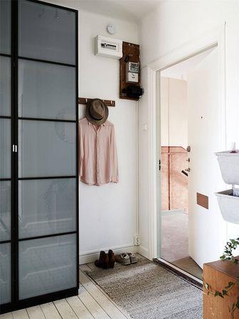 经济型60平米公寓北欧风格玄关装修图片大全