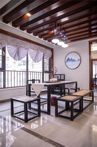 140平米四中式风格阳光房图片