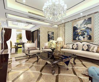 140平米三新古典风格客厅效果图