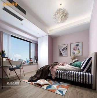 110平米三室两厅中式风格儿童房图