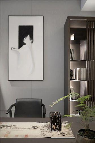 140平米四现代简约风格书房装修效果图
