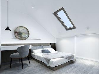 140平米三现代简约风格阁楼设计图