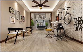 140平米三室两厅北欧风格影音室图