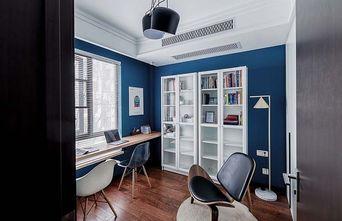 100平米三室两厅北欧风格书房图片