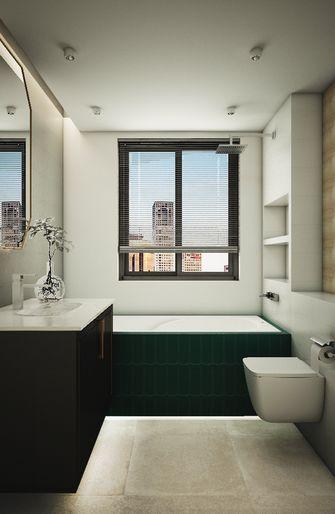 100平米三室一厅欧式风格卫生间欣赏图