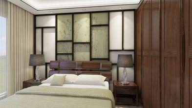 100平米三中式风格卧室设计图