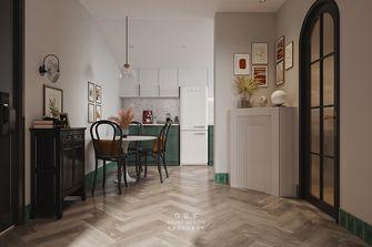 50平米一室一厅混搭风格餐厅欣赏图