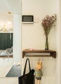 110平米三室两厅现代简约风格玄关图片大全