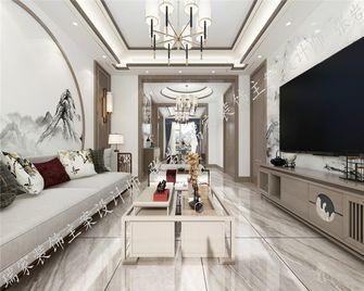 140平米三中式风格客厅效果图