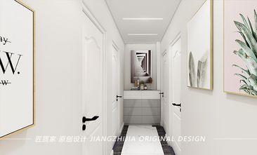 经济型130平米三室一厅宜家风格走廊图片