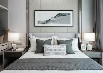 80平米公寓中式风格卧室效果图