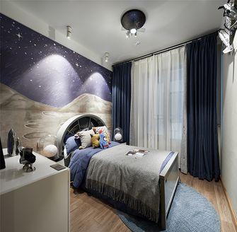 90平米三室两厅混搭风格儿童房装修图片大全