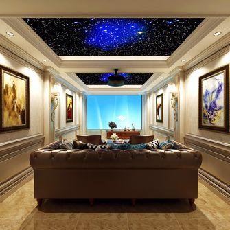 140平米别墅北欧风格影音室欣赏图