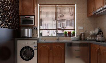 90平米复式混搭风格厨房图片大全