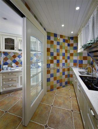 140平米复式地中海风格厨房图