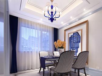 100平米三室两厅欧式风格餐厅设计图