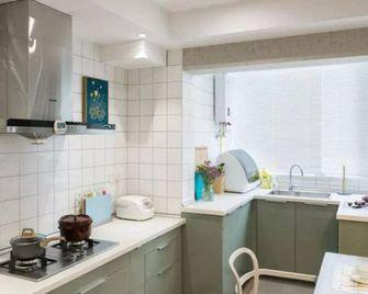 80平米三室一厅东南亚风格厨房图片