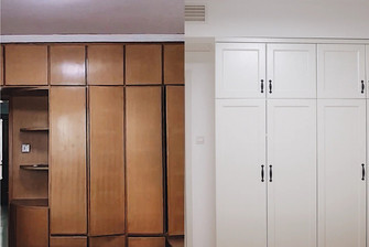 90平米三室一厅宜家风格卧室欣赏图