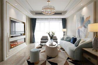 90平米一室一厅欧式风格客厅装修效果图