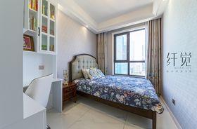 130平米三室两厅美式风格儿童房装修图片大全