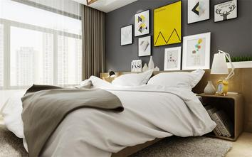 90平米公寓欧式风格卧室装修效果图