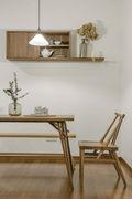 60平米一室一厅日式风格餐厅设计图