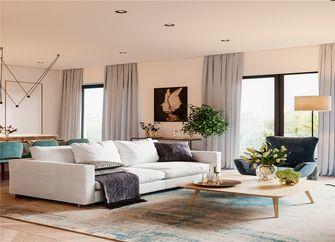 70平米北欧风格客厅装修图片大全