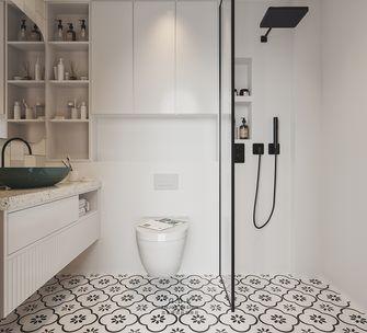 50平米一室一厅混搭风格卫生间装修效果图