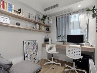 100平米日式风格书房装修案例