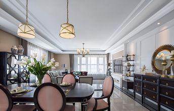 120平米三室一厅现代简约风格餐厅装修案例