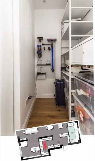 120平米三室一厅混搭风格储藏室设计图