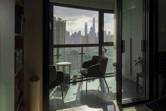 豪华型110平米三室两厅北欧风格阳台效果图