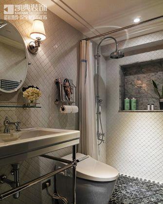 120平米三室两厅新古典风格卫生间浴室柜效果图