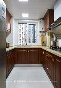 120平米三室一厅新古典风格厨房图