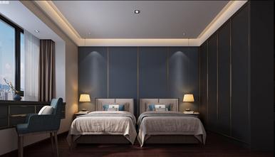 120平米四室一厅北欧风格卧室图片大全