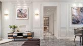 100平米三室两厅欧式风格走廊图