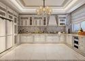 140平米四室一厅欧式风格厨房图片