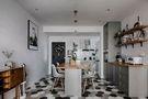 60平米一居室北欧风格餐厅效果图
