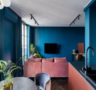 60平米一居室欧式风格客厅设计图
