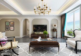 140平米三室两厅田园风格客厅装修图片大全