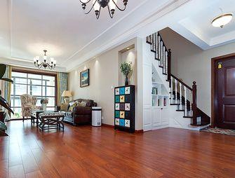 120平米复式美式风格客厅效果图