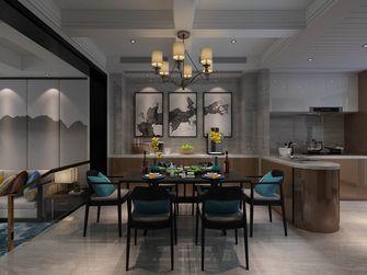 90平米中式风格餐厅装修图片大全