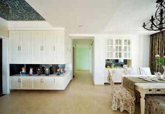 140平米三室两厅田园风格走廊图片大全