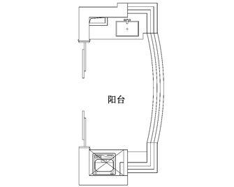 140平米四室两厅英伦风格阳台装修效果图
