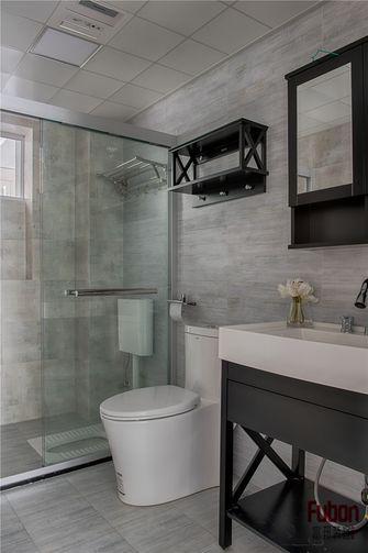 100平米三室一厅英伦风格卫生间装修案例