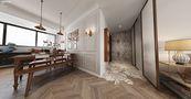 130平米四室两厅法式风格餐厅装修案例