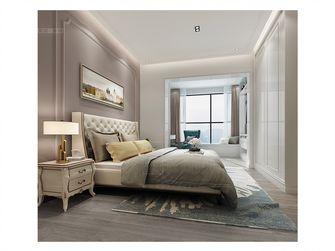 80平米三室两厅法式风格卧室图