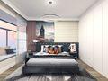 120平米一室两厅北欧风格卧室装修图片大全