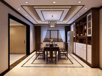 120平米四室一厅中式风格餐厅图片大全